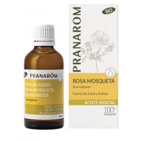 Pranarom Rosa Mosqueta aceite vegetal puro BIO 50ml