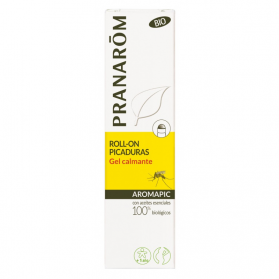 Pranarom Aromapic gel calmante en roll-on picaduras BIO 15ml