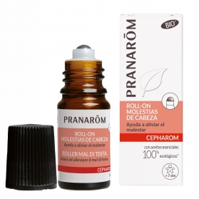 Pranarom Cepharom roll-on BIO molestias de cabeza 5ml