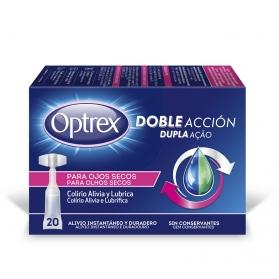 Optrex doble acción colirio ojos secos 20 monodosis