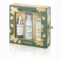 Caudalie cofre vinoperfect serum 30 ml + mousse limpiadora 50 ml + mascarilla glicólico 15 ml