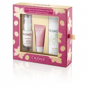 Caudalie cofre vinosource serum sos 30 ml+ crema sorbete 15 ml + agua de uvas 75 ml