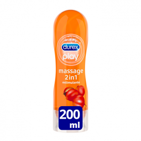 Durex play massage estimulante gel masaje 200 ml