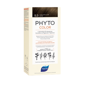 PhytoColor 5.3 Castaño Claro Dorado tinte para cabello con Extractos Vegetales