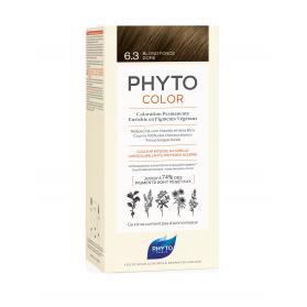 PhytoColor 6.3 Rubio Oscuro Dorado tinte todo tipo de cabellos