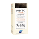 Phyto color 6 rubio oscuro tinte para cabello con extractos vegetales