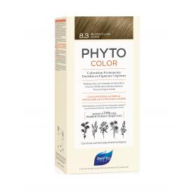 Phyto color 8.3 rubio claro dorado tinte para cabello con extractos vegetales