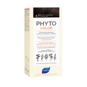 Phyto color 4.77 castaño marrón intenso tinte para cabello con extractos vegetales