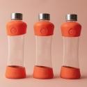 Equa botella de cristal active collection tangerine 550 ml
