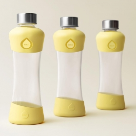 Equa botella de cristal active collection lemon 550 ml