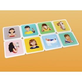 Mut kids el juego emociones a pares 16 parejas