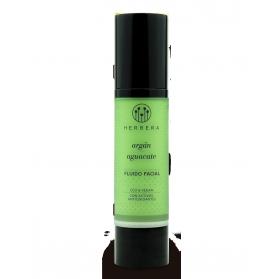 Herbera biocosmética fluido facial con argán y aguacate 50 ml