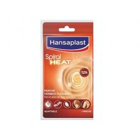 Hansaplast Spiral Heat parche térmico flexible adaptable 1 ud