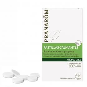 Pranarom Aromaforce pastillas para la garganta 21 comprimidos
