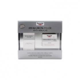 Eucerin COFRE Hyaluron-Filler crema de día FPS15 piel normal 50 ml+ crema de noche 50 ml