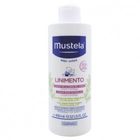 Mustela linimento limpia y protege la zona del pañal 400ml