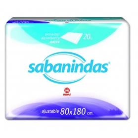Sabanindas 80x180 ajustable 20 uds