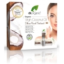 Dr organic cofre virgin coconut oil crema de día 50 ml + crema de noche 50 ml + contorno 15 ml