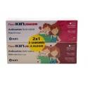 Fluor Kin Junior pasta dental anticaries Fresa y Cola DUPLO 2x75 ml