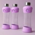 Equa botella de cristal Active Collection Lila 550 ml