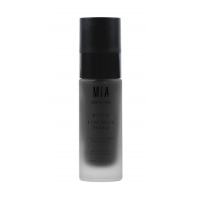 Mia cosmetics black luscious primer prebase en agua 30 ml con charcoal powder