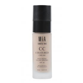Mia cosmetics cc cream spf30 tono medium 30 ml con esferas de hialurónico