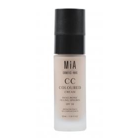 Mia cosmetics cc cream spf30 tono medium 30 ml con esferas de hialurónico