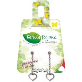 Farma Bijoux pendiente hipoalergénico modelo Corazón BE PA705