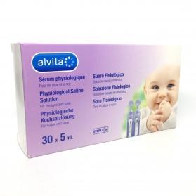 Alvita suero fisiológico monodosis 30x5 ml