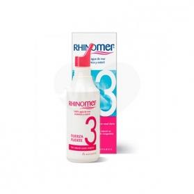 Rhinomer Fuerza 3 limpieza nasal agua de mar 135 ml