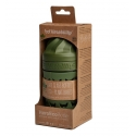 Herobility hero eco bottle biberón de cristal verde bosque 220 ml