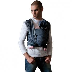 Fular tejido deluxe bykay denim - dark jean talla 6 4,7 metros
