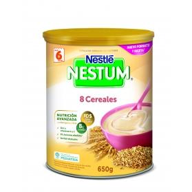 Nestlé Nestum papilla 8 cereales Lata 650 gr