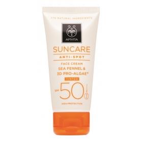 Apivita suncare crema antimanchas color spf50 50ml