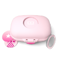 Monbento mb gram caja para merienda rosa litchi