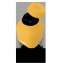 Monbento mb positive s botella reutilizable 330 ml amarilla moutarde