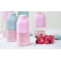 Monbento mb positive s botella reutilizable 330 ml rosa litchi