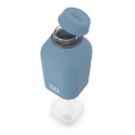 Monbento mb positive m botella reutilizable 500 ml azul denim