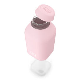 Monbento mb positive m botella reutilizable 500 ml rosa litchi
