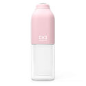 Monbento mb positive m botella reutilizable 500 ml rosa litchi