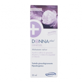Donnaplus Ginegel hidratante vulvar 35 ml con Aloe, Hialurónico y Boswellia