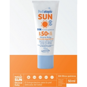 Pediatopic sun mineral baby spf50+ 50 ml