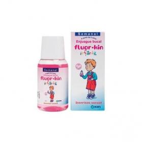 Fluor Kin Infantil Semanal colutorio infantil 100 ml