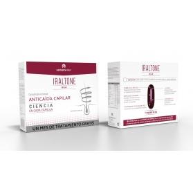Iraltone AGA DUPLO anticaída 2x60 cápsulas