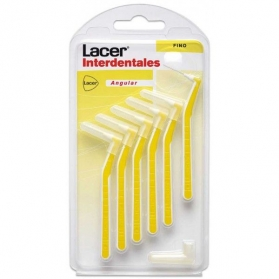 Lacer cepillo interdental fino angular 6uds