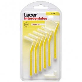 Lacer cepillo interdental fino angular 6uds
