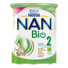 Nestlé nan bio 2 800 gr leche ecológica de continuación