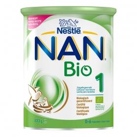 Nestlé nan bio 1 800 gr leche ecológica de inicio