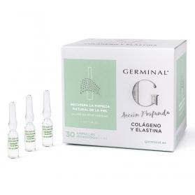 Germinal Acción profunda con Colágeno y Elastina 30 ampollas 1,5 ml