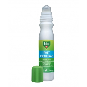 Relec Post Picaduras roll-on 15 ml con Glicerina, Extracto de Rooibos y Mentol.